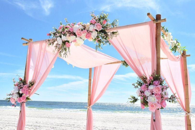 Pink Wedding at Hilton Garden