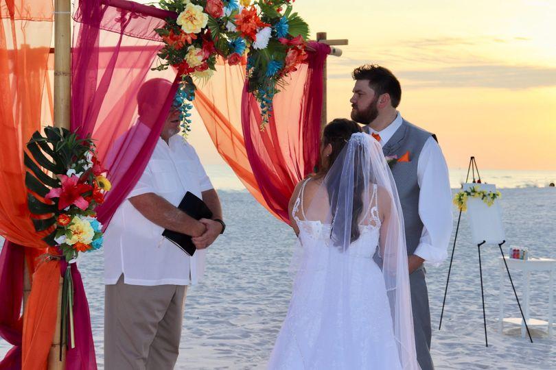 Customized Tropical Wedding