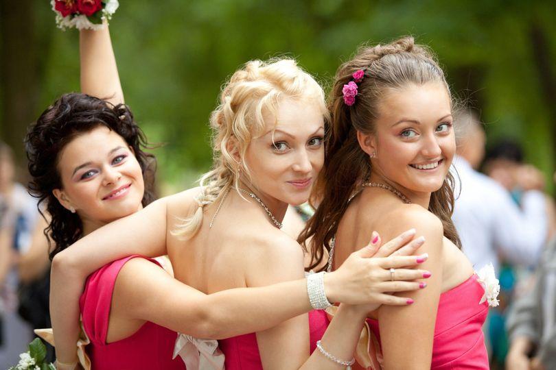 bigstock bridesmaids at wedding ceremon 22006820