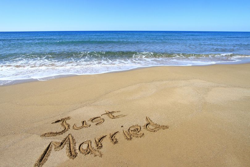 bigstock just married written on gold 45051253
