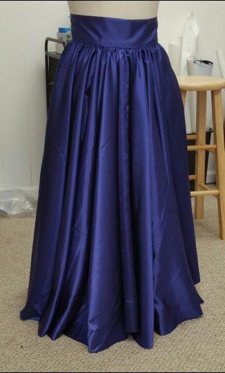 Custom Mother Of the Bride Skirt