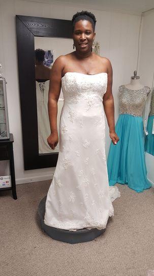Alter Wedding Dress