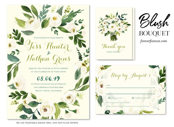 Blush Bouquet wedding rose