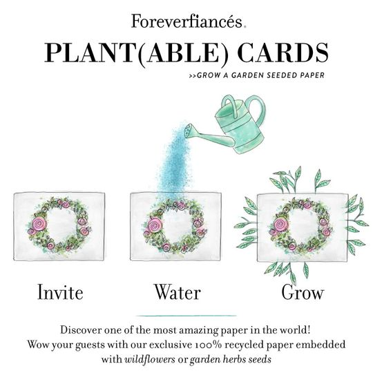 Our invitations can be planted