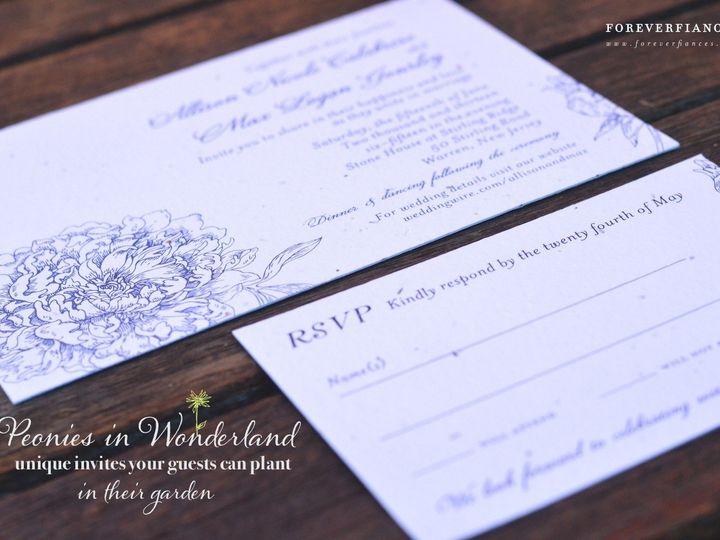 Tmx 1374687991421 Peoniesweddinginvitationsff San Diego, CA wedding invitation