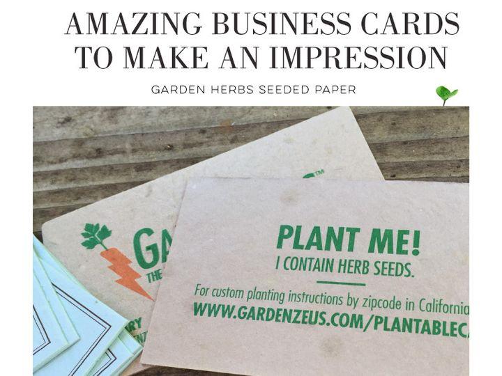 Tmx Blog Seeded Paper Biz Cards 51 54667 San Diego, CA wedding invitation