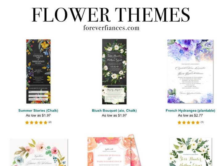 Tmx Flowers 51 54667 San Diego, CA wedding invitation