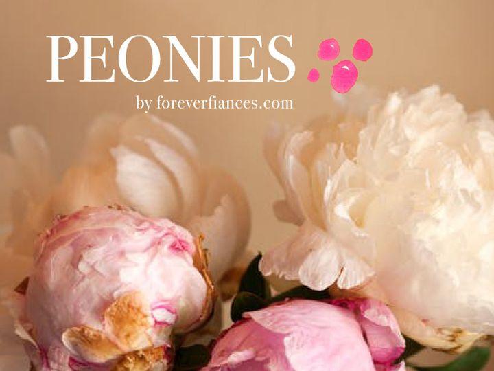 Tmx Peonies 51 54667 V1 San Diego, CA wedding invitation