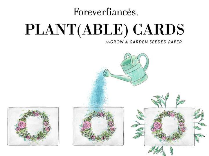 Tmx Plantable Paper Invite Water Grow 51 54667 San Diego, CA wedding invitation
