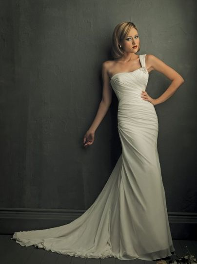 Informal type wedding dress, your liked style!