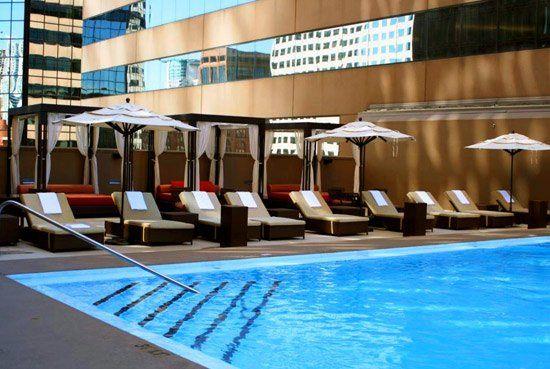 Sheraton Denver pool