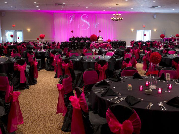 Tmx 1450370123425 Black Pink Reception Falls 2 Columbia, IL wedding venue