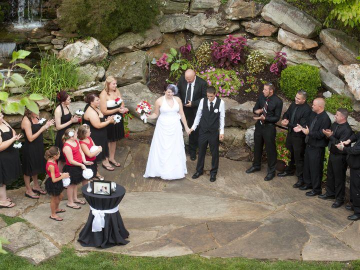 Tmx 1450370471788 Rooftop Shot Of Bridal Party Columbia, IL wedding venue