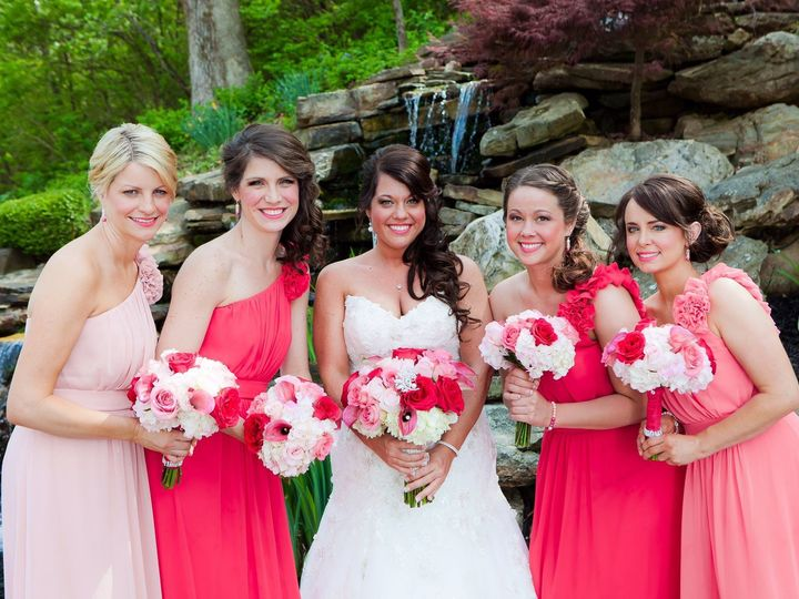 Tmx 1478805972660 Bride And Maids At Waterfall In Coral Columbia, IL wedding venue