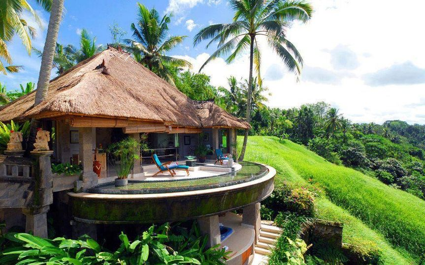 Dream vacation in Bali