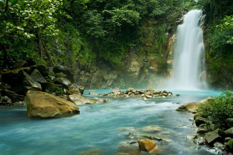 Waterfall vacation
