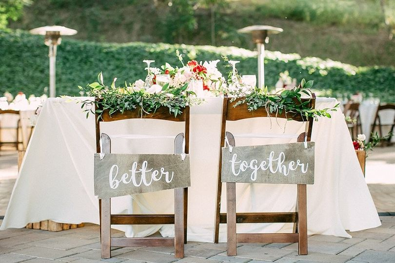 Better together signs - Rose & Belle Photography