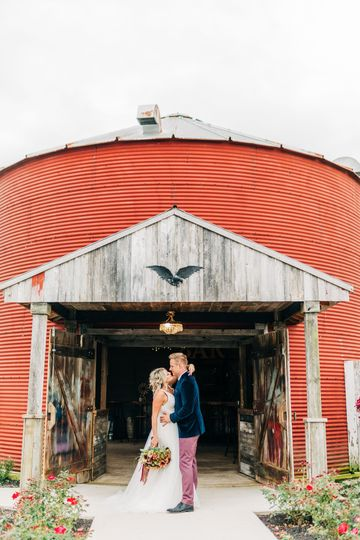 The entrance of the Grain Bin