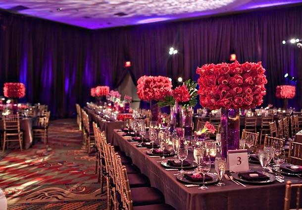 Reception area at the Dallas Marriott Las Colinas