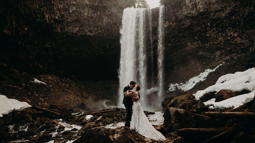 Mt. Hood, OR - Tamanawas Falls
