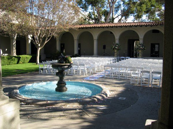 The Music Quad, an arcaded courtyard with a beautiful fountain, is one of our most popular wedding...