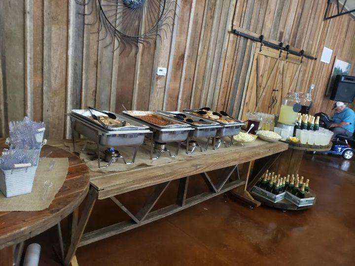 Buffet at Grand Paw's Barn