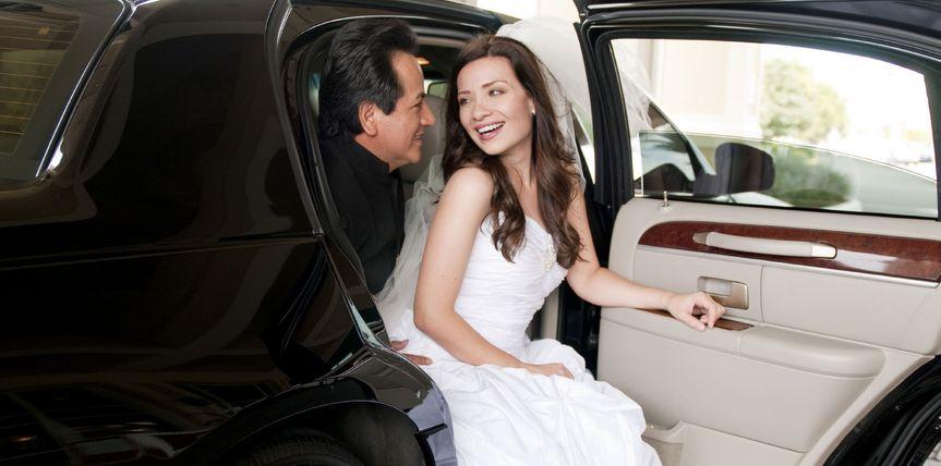 austin wedding limo service