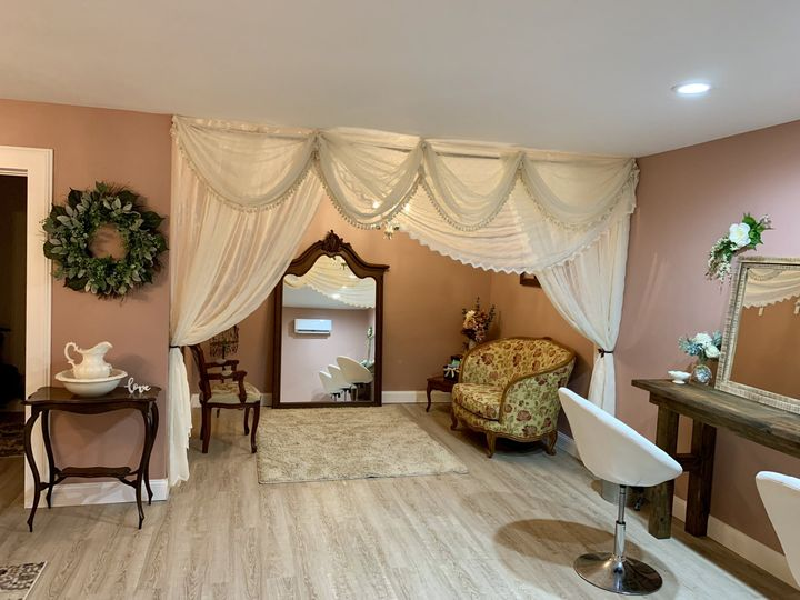 Bridal dressing area