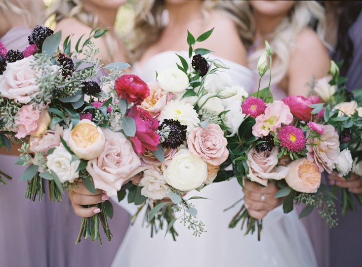 The wedding bouquets - Kate Voda Photography