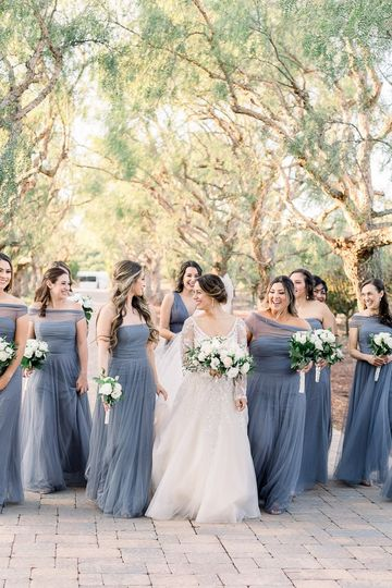 The wedding party - Kate Voda Photography