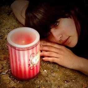 Je T'aime (I Love You) Imageglow® Lantern Style Candle