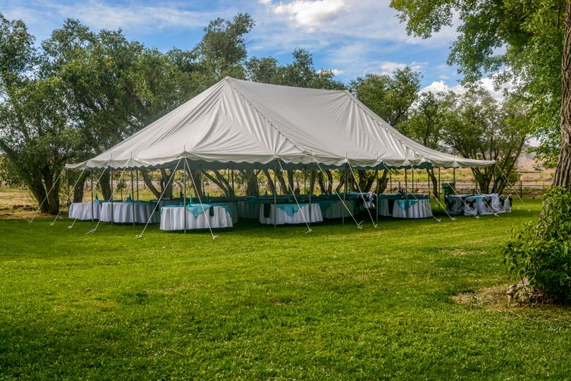 Reception Tent - included