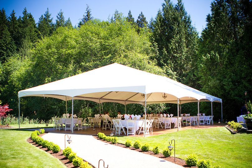 Stake tents