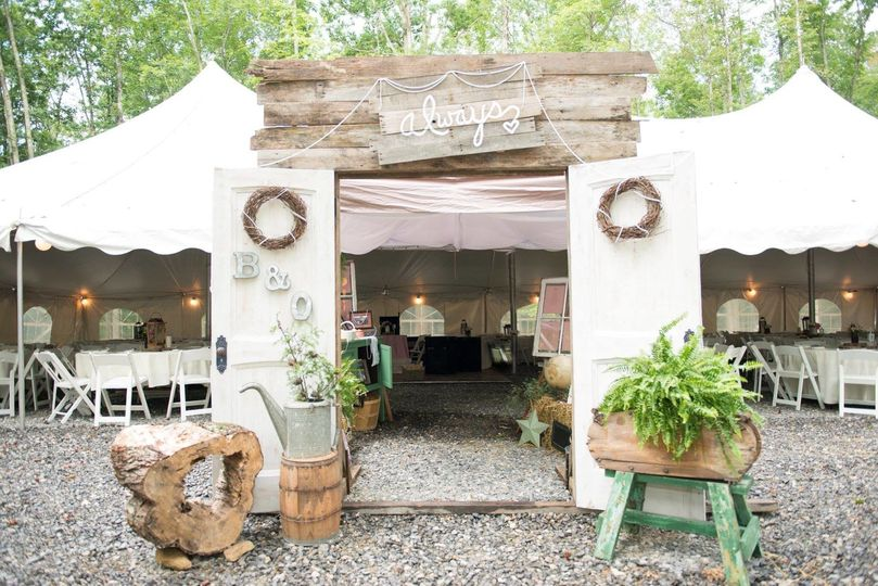 Serenity point mountain lake campground cabins venue for 712 salon charleston wv reviews