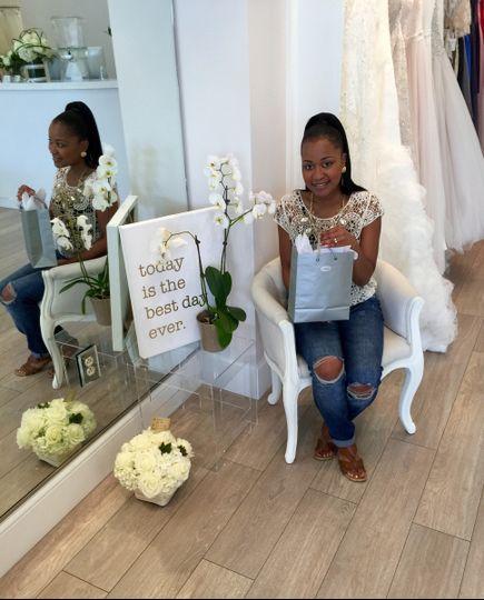 Louise Christine bride Dekunte
