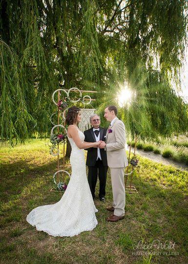Willow Glen ceremony