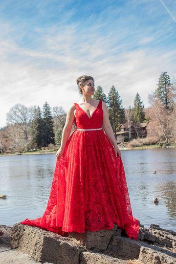 Austin crimson bride