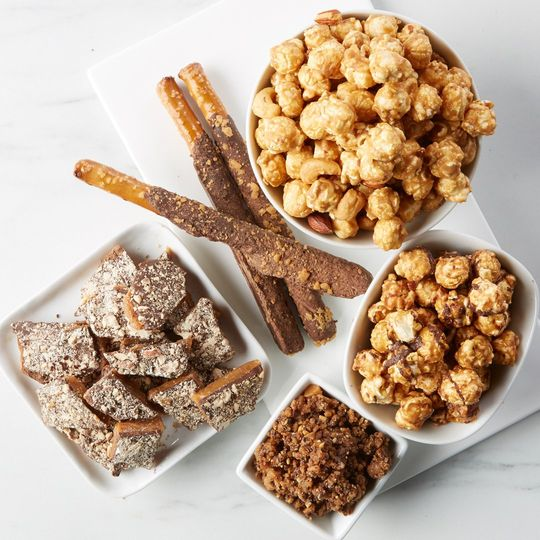 Handcrafted toffee treats