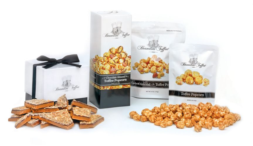 Toffee and toffee popcorn