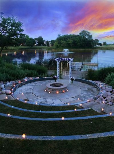 Our Lovely Lakeside Firepit
