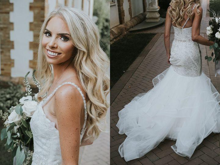 Glamorous bridal portraits