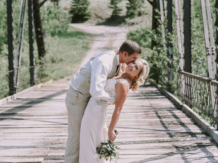 Tmx 1506574029559 Sarah Ryan Trustem 6 3 17 Bride Groom 0036 Billings, MT wedding photography