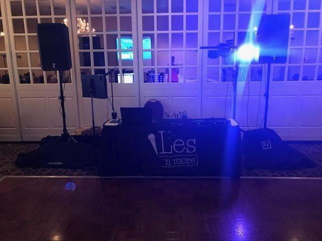 Les N More set up