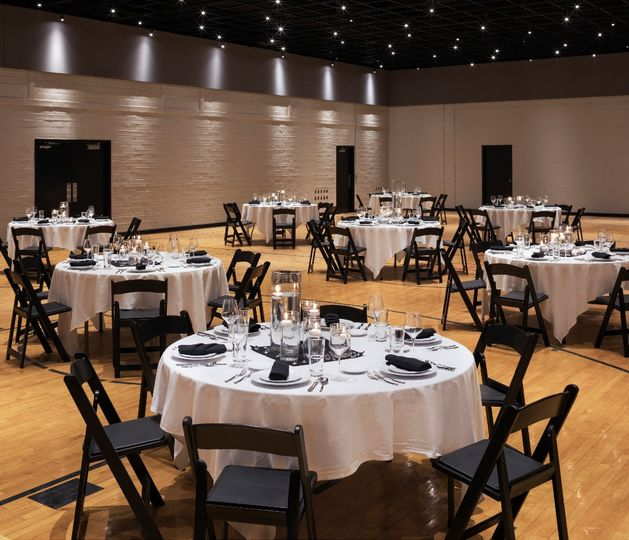 Banquet-style seating
