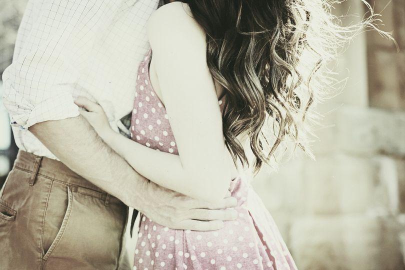A hug and embrace