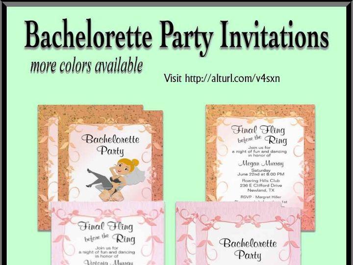 Tmx Bachelorette Invitations 51 957767 1558201061 Ringtown wedding invitation