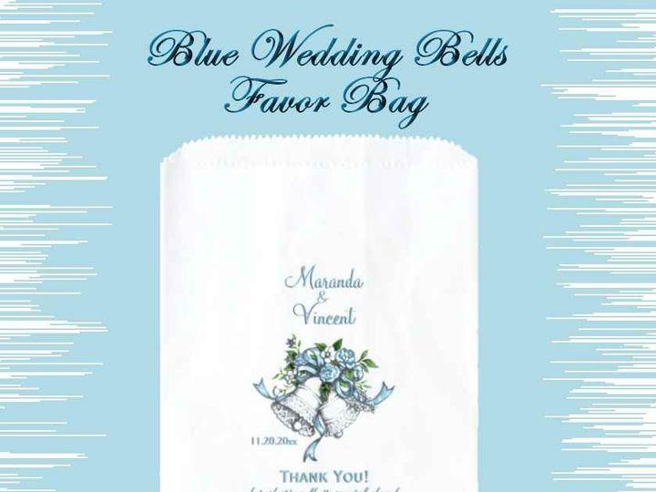 Tmx Blue Wedding Bells Favor Bag 51 957767 1558202383 Ringtown wedding invitation