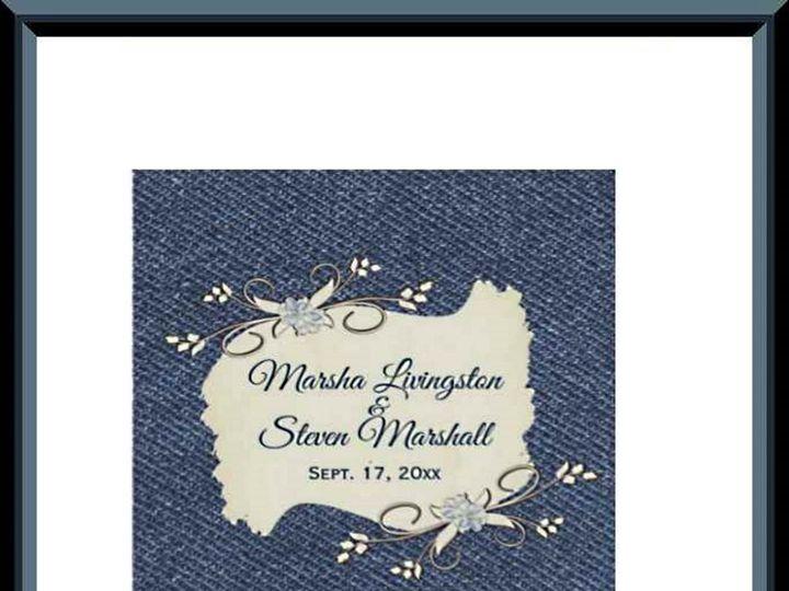 Tmx Denim Wine Lables 51 957767 1558202522 Ringtown wedding invitation