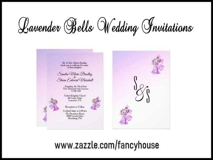 Tmx Lavender Wedding Bells Invitations 51 957767 1558202839 Ringtown wedding invitation