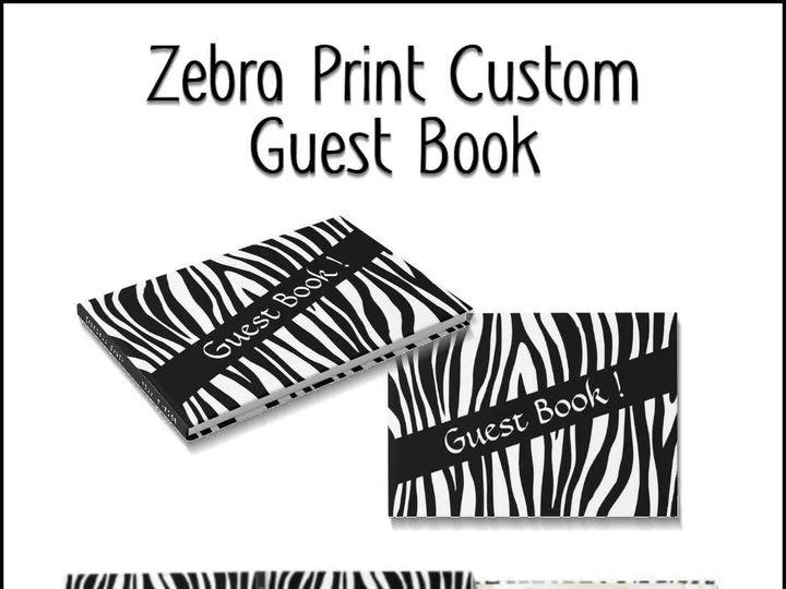 Tmx Zebra Guest Book 51 957767 1558202885 Ringtown wedding invitation